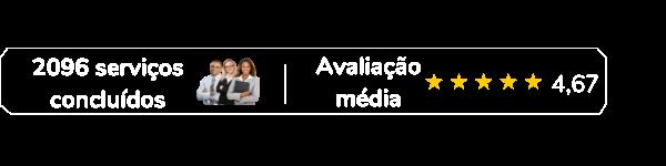 Avaliação média dos serviços na Freelaw: 4,67
